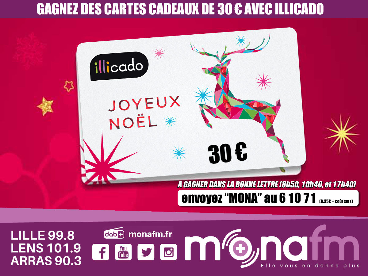 Votre carte ILLICADO - Mona FM