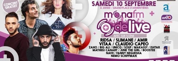 Mona FM Plus de Live : le concert des Nieulles 2016