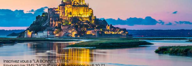 Gagnez votre WE au Mont Saint Michel