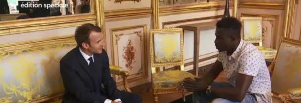 """Mamoudou Gassama va être """"naturalisé français"""" et intégrer les sapeurs-pompiers, annonce Emmanuel Macron"""