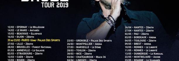 PATRICK BRUEL:De retour avec un album et une tournée qui passe par Lille