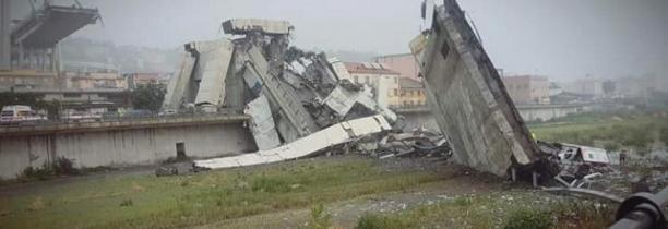 Gênes (Italie):Le viaduc A10 s'effondre déjà 30 morts