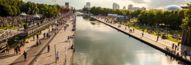 PARIS Attaque au couteau cette nuit à  Sept personnes blessées dont quatre grièvement le long du canal de l'Ourcq - L'homme a été interpellé