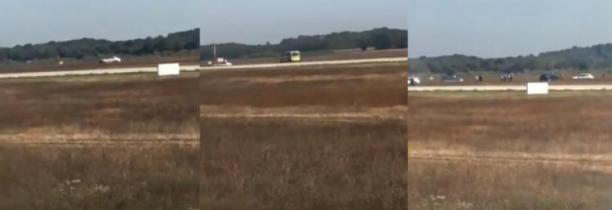 Un homme a été arrêté après être entré en voiture sur les pistes de l'aéroport de Lyon   VIDEO