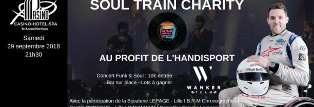 PASINO DE SAINT AMAND LES EAUX: la Wanker Team pour vous proposer un événement caritatif unique en son genre