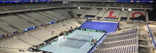 FRANCE -CROATIE  la finale de la coupe Davis devrait se jouer à nouveau au stade Pierre MAUROY