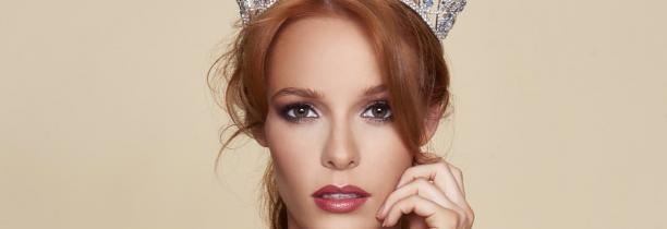 Maeva Coucke candidate à Miss Monde