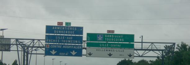 TRAVAUX:A25 vers le centre commecial    bretelle sorties 2 dans le sens Lille Dunkerque fermée des demain de 21 h à 6 h