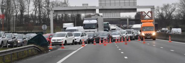 TRAVAUX: A1 fermeture de route au niveau de Seclin ce mercredi 21 H  6H