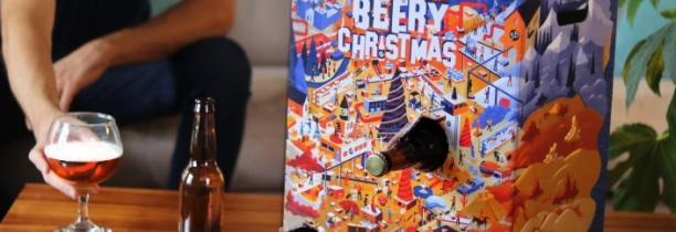 Calendrier de l'Avent BEERY CHRISTMAS par Saveur Bière