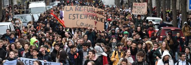 """""""Mouvement des lycéens"""" Un mardi Noir dans la région"""