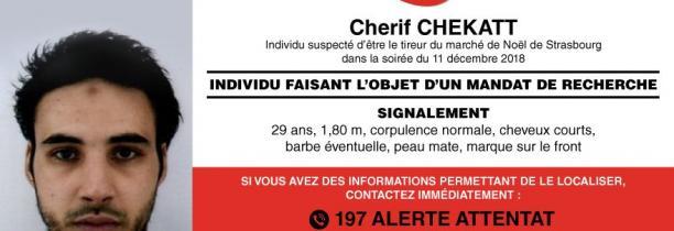 Cherif Chekatt a été abattu par la police à Strasbourg