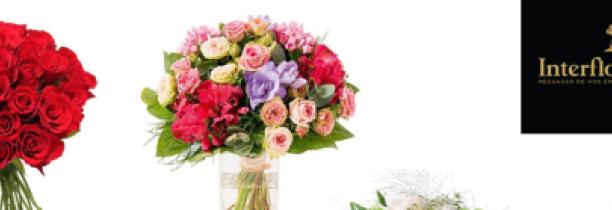 Votre bouquet INTERFLORA pour la Fête des Grands-Mères