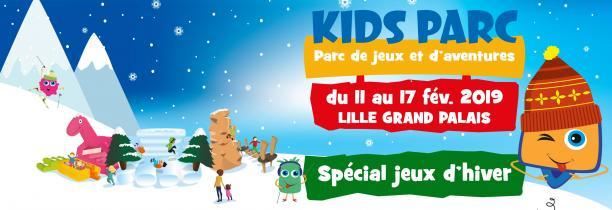 KIDS PARC ouvre ce lundi 11 fevrier à Lille Grand palais