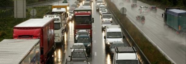 La perte de chargement sur l'A1 à Ronchin actuellement 15 km de bouchons et 50 min de plus sur un trajet