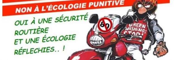Les motards en colère appellent à une manif contre le périphérique à 70 km/h à Lille Samedi