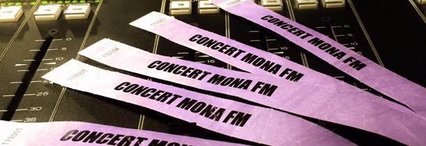 Gagnez vos PASS V.I.P pour le concert Mona FM