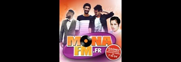 Mona FM vous invite à son Concert Privé avec Frero Delavega, Vianney et Makassy