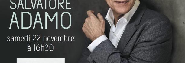 Salvatore Adamo en dédicace avec Mona FM
